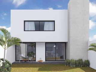Anteproyecto - Casa SAF de Rios Serna Arquitectos Minimalista