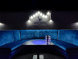Modernes Club Design - ein Interior Make-Over :   von Kaldma Interiors - Interior Design aus Karlsruhe