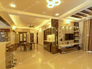 :  Living room by 2 Bricks Design Studio