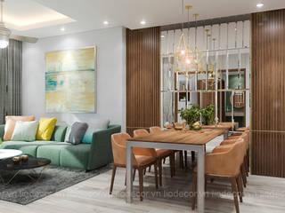 Thiết kế nội thất chung cư Kingston bởi Lio Decor Hiện đại