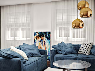Living room by Artlike, Modern