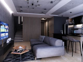 Living room by Artlike, Minimalist