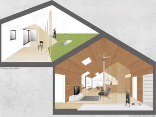 ผสมผสาน  โดย JMA(Jiro Matsuura Architecture office), ผสมผสาน