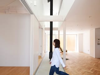 Koridor & Tangga Minimalis Oleh JMA(Jiro Matsuura Architecture office) Minimalis