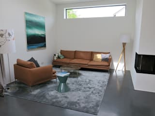 Living room by Traumraum&beton DESIGN by NONNAST