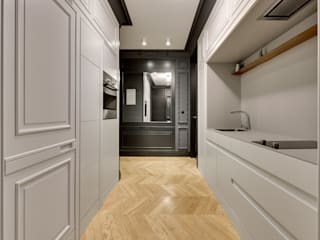 Mieszkanie w stylu minimalistycznym Minimalistyczna kuchnia od Pro-Plan-Foto Minimalistyczny