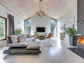 Dom który może się podobać Nowoczesny salon od Pro-Plan-Foto Nowoczesny