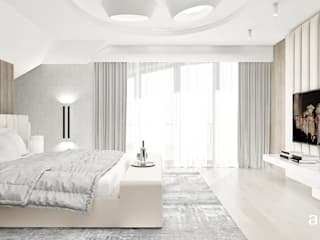 Bedroom by ARTDESIGN architektura wnętrz,