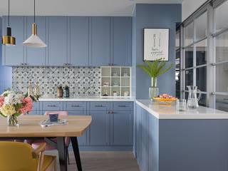 知域設計 Scandinavian style kitchen