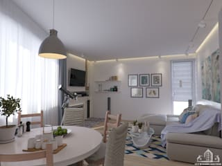 Living room by GCE Building Solution s.r.o.