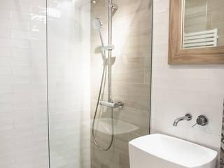 mała łazienka Nowoczesna łazienka od Limonki studio Wojciech Siudowski Nowoczesny