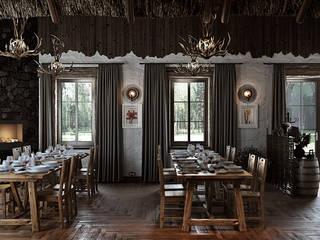 mlynchyk interiors Restaurantes Bambú
