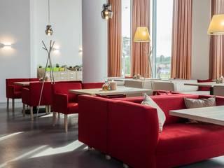 mlynchyk interiors Restaurantes Concreto