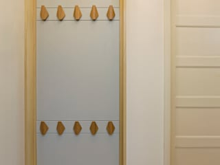 Couloir et hall d'entrée de style  par BL Design Arquitectura e Interiores, Éclectique