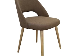 Decordesign Interiores Dining roomChairs & benches Textile Brown