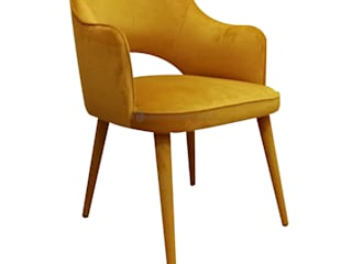 Decordesign Interiores Dining roomChairs & benches Textile Yellow