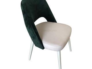 Decordesign Interiores ComedorSillas y bancos Textil Verde