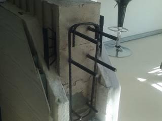 MATERIALES QUE USAMOS EN NUESTROS PROYECTOS Paredes y pisos modernos de Casas del Girasol- arquitecto Viña del mar Valparaiso Santiago Moderno