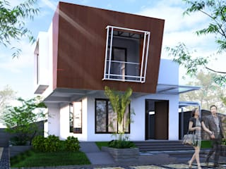 Desain rumah tinggal Rumah Modern Oleh homify Modern