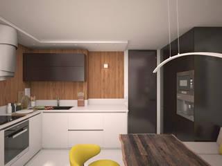 Геометрия/Geometry : Кухни в . Автор – ekovaleva.prodesign, Минимализм