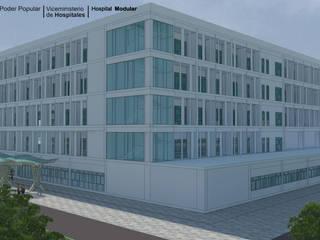 LAC ARQUITECTURA HOSPITALARIA Modern houses
