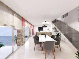 Living room by ÖQ Arquitectos, Classic
