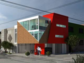 Multi-Family house by ÖQ Arquitectos, Modern