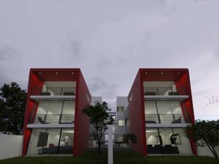 Single family home by ÖQ Arquitectos, Modern