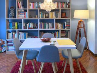 Biblioteca:  de estilo  por Carpintería Muebles Morely
