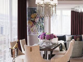 Classic style dining room by Дизайн студия 'Акварель' Classic