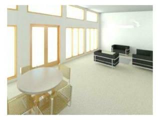 Diseño y presupuesto casa en Valle de Elqui: Comedores de estilo  por Constructora Alonso Spa