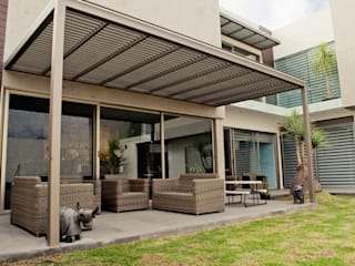 CASA DEL ANGEL 1: Casas de estilo  por RARQ