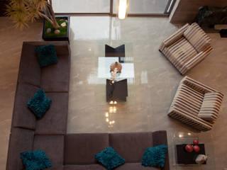 CASA DEL ANGEL 1: Salas de estilo  por RARQ