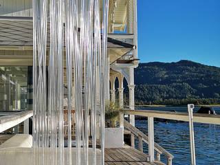 Gastronomieeinrichtung: Raumtrenner für Restaurants, Lokale, Hotels: modern  von www.skydesign.news - Sichtschutz Terrasse,Modern