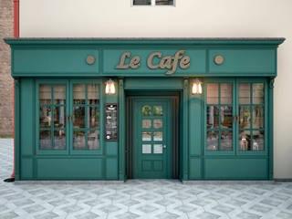 Le Cafe : Бары и клубы в . Автор – ekovaleva.prodesign, Классический