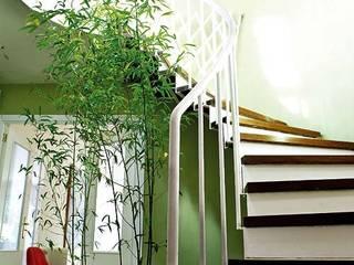 decoración bajo escaleras de Viviendo Verde Moderno