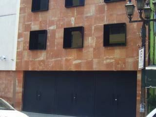 Gerencia de proyecto. Edificio de oficinas Casas minimalistas de LOGFE GRUPO DE ARQUITECTURA Minimalista
