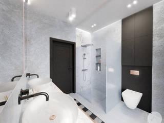 ห้องน้ำ โดย WOJTYCZKA Pracownia Projektowa, โมเดิร์น