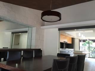 Remodelación Casa habitación CDMX de LOGFE GRUPO DE ARQUITECTURA Minimalista