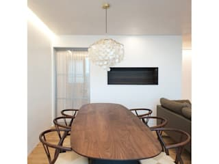 Modern dining room by WITHJIS(위드지스) Modern