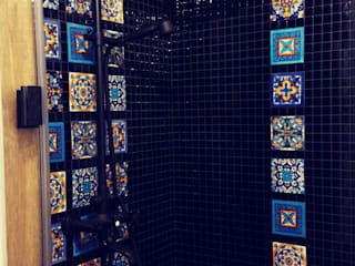 Colonial style bathroom by Cerames Colonial