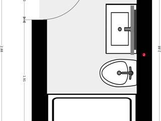 Realiza la reforma  integral de tu baño en una semana con Banium:  de estilo  de Banium-Reformas del Hogar en Madrid, Moderno