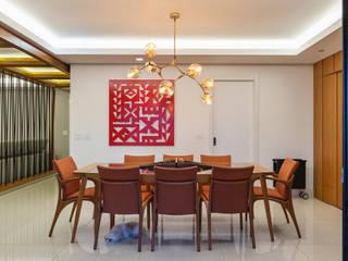 Apartamento Santo Agostinho: Salas de jantar  por Ivan Araújo Fotografia de Arquitetura,Moderno