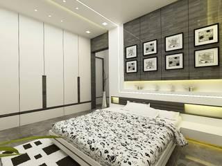 Master bedroom by Verve design studio