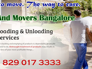Galerías y espacios comerciales de estilo industrial de Packers And Movers Bangalore Industrial