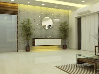 3BHK flat : modern  by Verve design studio ,Modern