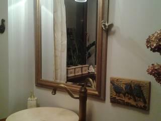 Rustic style bathroom by Cerames Rustic