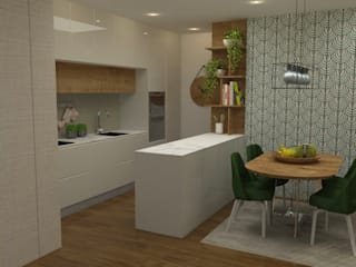Built-in kitchens by Casactiva Interiores