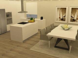 Kitchen units by Casactiva Interiores