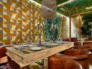 餐廳 by MisterWils - Importadores de Mobiliario y departamento de Proyectos., 隨意取材風